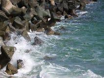 Strandschutz Stockfoto