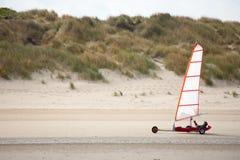 Strandsegeln Lizenzfreies Stockfoto