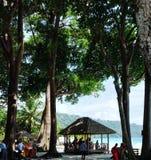 Strandseite stockbild