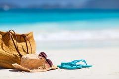Strandsemester Royaltyfria Bilder