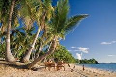 strandsemesterort Arkivfoto