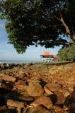 strandsemesterort Royaltyfri Bild