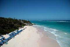 Strandsemesterorter i ön av Barbados Arkivbild