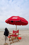 Strandsicherheit Stockbild