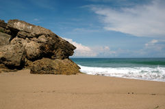 strandsikt arkivbild
