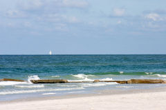 strandsikt Arkivbilder