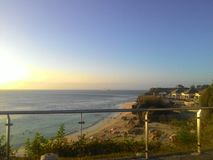 Strandsikt fr?n den tropiska ?n Bali arkivbild