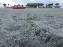 Strandsikt i Danang Arkivfoto