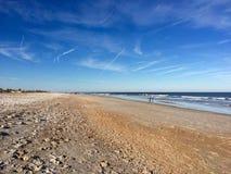 Strandsiktssommar Florida Arkivbilder