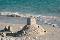strandslottsand Royaltyfri Bild
