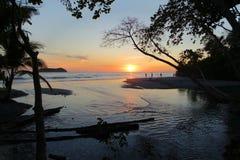 Strandsoluppsättning Royaltyfri Foto