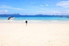 Strandsommar Arkivfoton