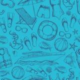 StrandSommerferien Stockfotos