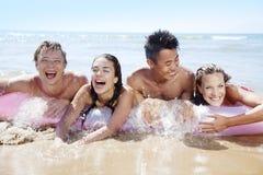 Strandspaß Stockfotos