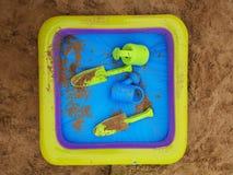 Strandspeelgoed stock foto