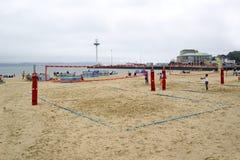 Strandspiele Lizenzfreies Stockfoto