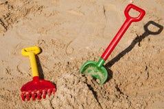 Strandspielwaren Stockfotos