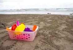 Strandspielwaren Stockfoto