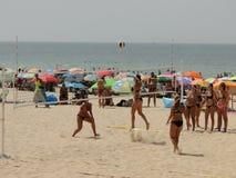 Strandsport Stockfoto