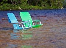 Strandstühle Lizenzfreies Stockbild