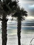 strandstad florida panama Arkivbild