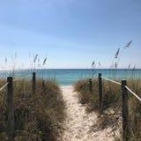 strandstad florida panama Royaltyfri Foto