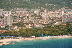 Strandstadt von Varna Lizenzfreies Stockfoto