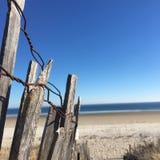 Strandstaket Arkivfoton