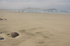 strandsten Arkivfoton