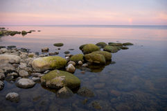 strandstenblock Arkivbilder
