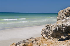 strandstenblock Arkivfoton