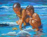 strandstjärna Royaltyfria Bilder