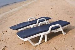 strandstol Royaltyfri Bild