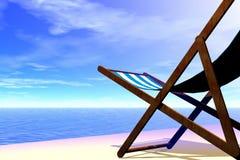 strandstol Royaltyfri Foto