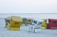 strandstolar Arkivfoto