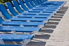 strandstolar Fotografering för Bildbyråer