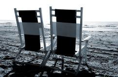 strandstolar Royaltyfri Bild