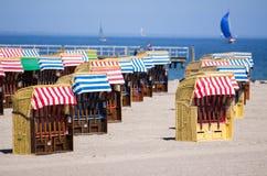 Strandstuhl Stockfoto