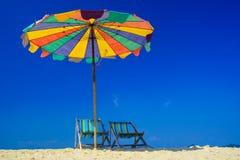 Strandstuhl auf KOH Khai-Insel, Krabi, Thailand stockbilder