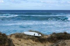 strandsurfingbräda Arkivbild