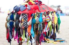 Strandswimwearförsäljning Royaltyfria Bilder