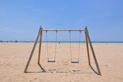 strandswing fotografering för bildbyråer