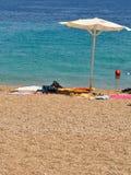 Strandszene Stockfotos