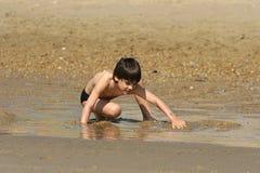 Strandszene Lizenzfreies Stockfoto
