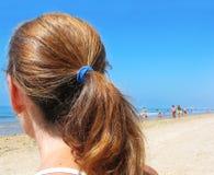 Strandtag Stockbild