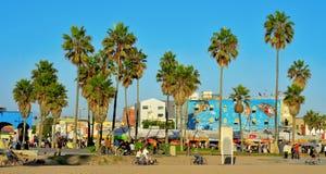 strandtillstånd eniga venice Royaltyfria Bilder