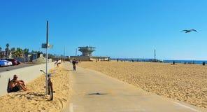 strandtillstånd eniga venice Arkivfoton