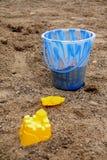 strandtoys royaltyfria bilder