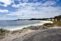 Stranduppehälle på den Rottnest ön Royaltyfria Foton