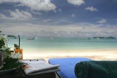 Strandurlaubsort Stockbilder